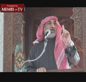 Former Jordanian Minister Bassam Al-Amoush in Friday Sermon Quotes Hitler: The Jews Corrupt the Youth