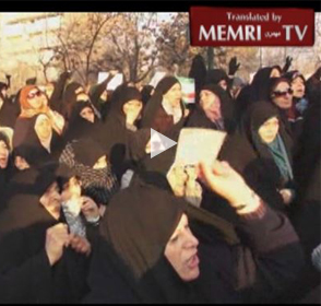 Iranians Protest the Charlie Hebdo Cartoons: