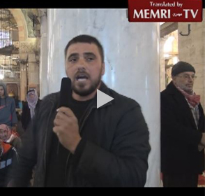 Cleric Supports Paris Attacks in Al-Aqsa Mosque Address, Threatens Even Harsher