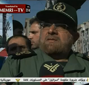 Deputy Iranian Chief of Staff Brig.-Gen. Mostafa Izadi Threatens
