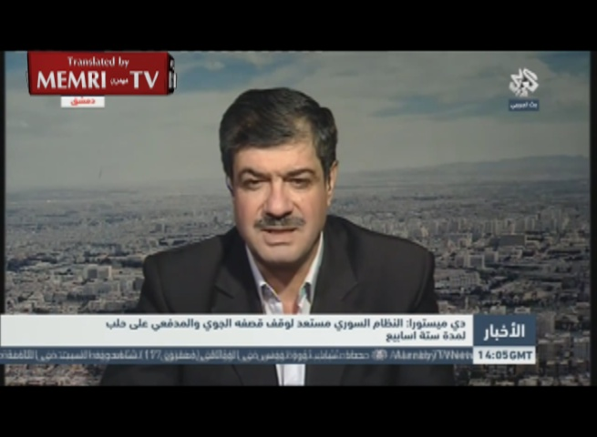 Syrian Commentator Taleb Ibrahim: If We Had Nuclear Bombs, We Would Drop Them on the Terrorists