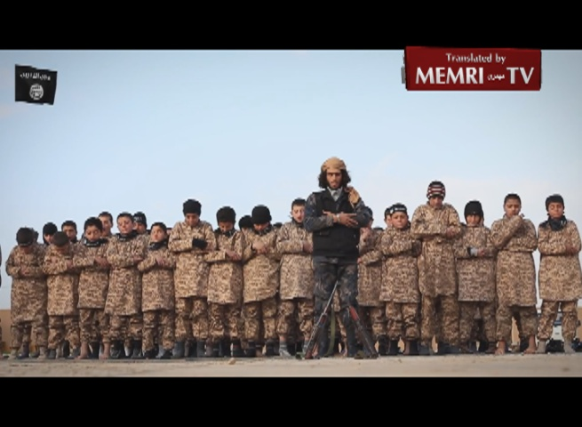 ISIS Training Camp for Children in Al-Raqqah, Syria