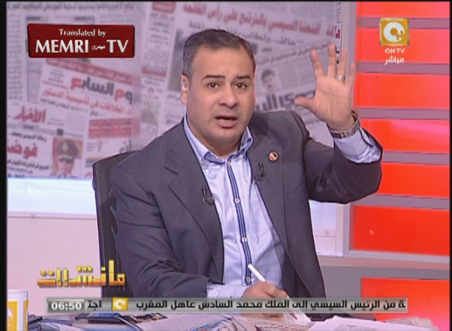 Egyptian TV Host Gaber Al-Karmoty: The Jews Are Using the Holocaust to Suck the Blood of the Germans