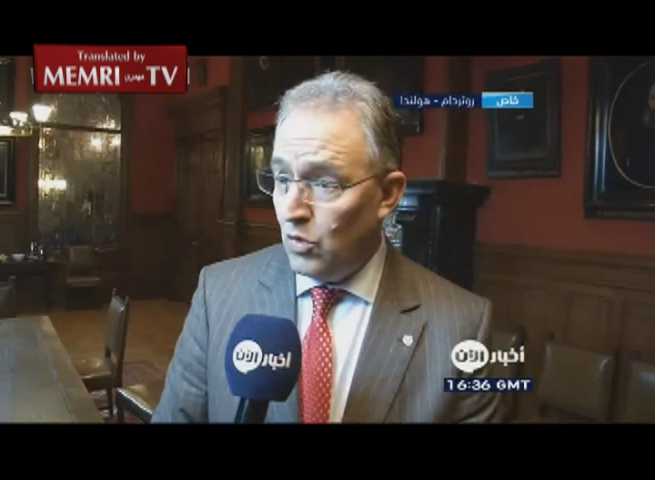 Rotterdam Mayor Ahmed Aboutaleb following Paris Attacks: People Who Do Not Respect the Law Can Go Live at the North Pole