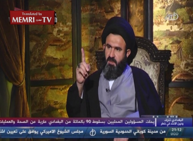 Iraqi Shiite Militia Leader Watheq Al-Battat: Give Me a Month, and I Will Make ISIS Terrorists Wear Women's Clothing