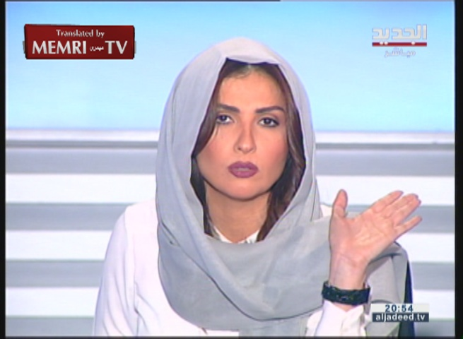 Lebanese TV Host Rima Karaki Cuts Short London-Based Islamist's Interview following Insolent Remarks