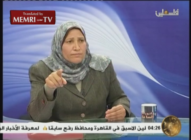 Fatah Central Committee Member to PA TV: Dalal Mughrabi, Female Suicide Bombers, Are Our Role Models