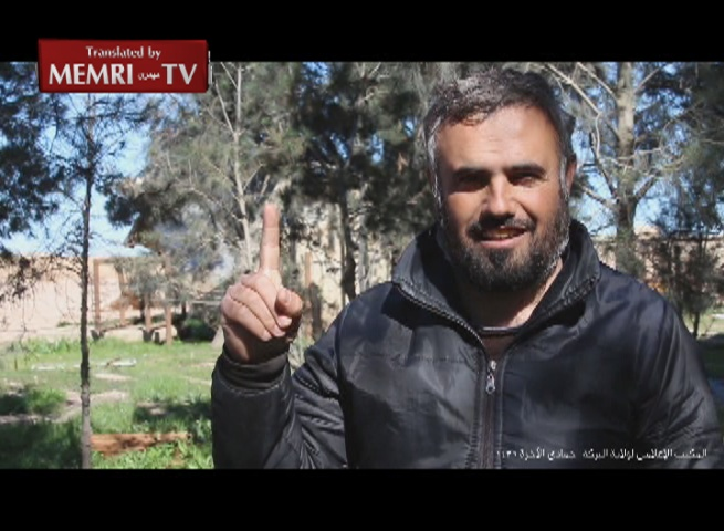 ISIS Presents Conversion to Islam of Christian Captured in Syria