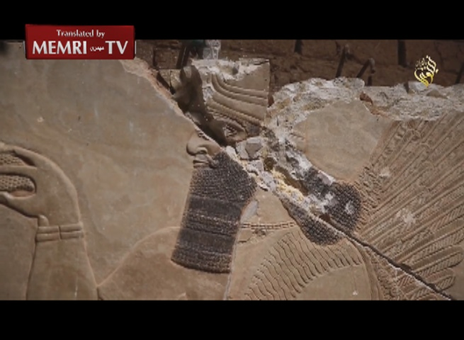 ISIS Destroys Ruins of Ancient Assyrian City of Nimrud, Iraq