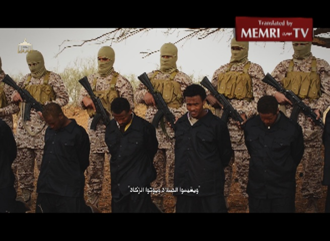 Extremely Graphic: ISIS Video Shows Executions of Dozens of Christians in Libya