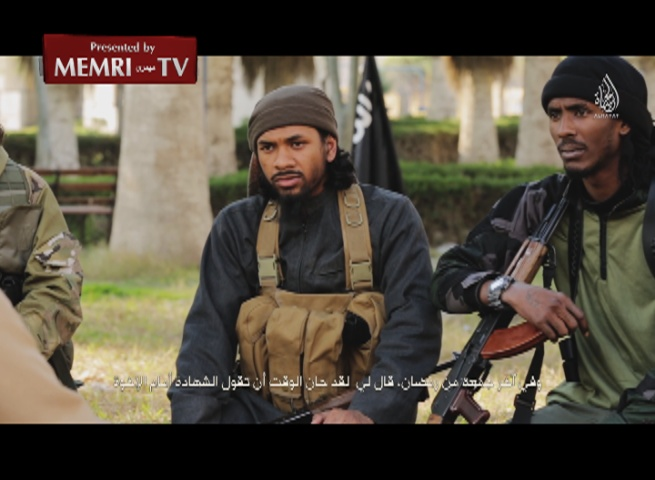 Australian ISIS Fighter Calls upon Muslims to Carry Out Attacks on Australian Soil
