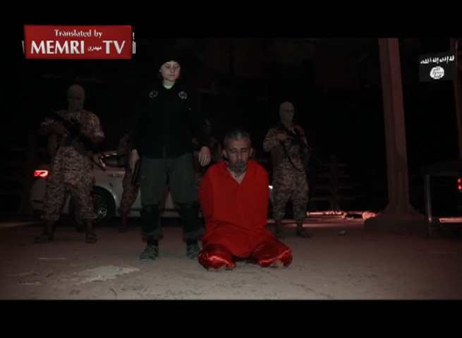 Warning - Extremely Graphic: ISIS Video Shows Boy Executing Iraqi