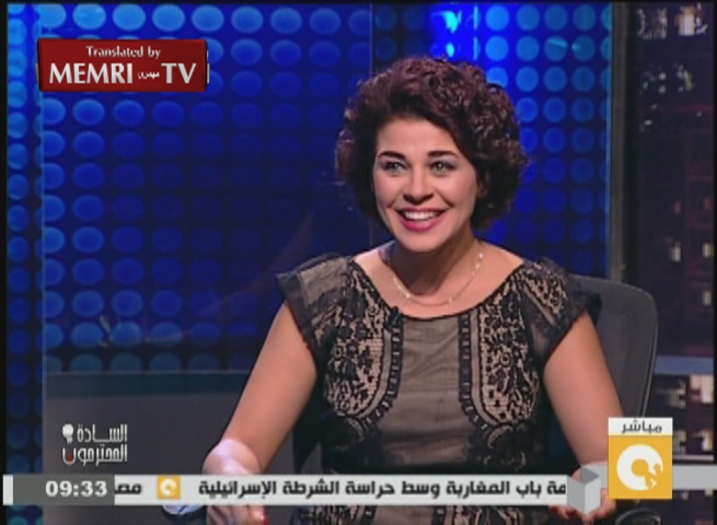 Egyptian Actress Mona Hala: People Are Free to Be Homosexuals; It Is Not My Place to Judge Them