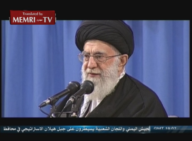 Iranian Supreme Leader Khamenei following Lausanne Declaration: Nothing Has Been Achieved So Far