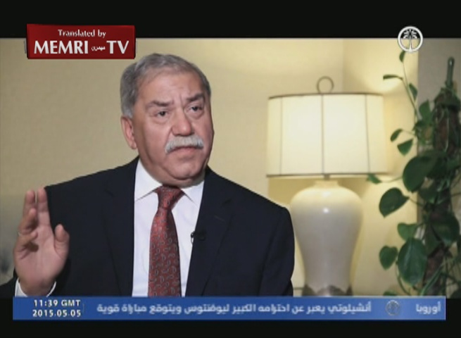 Iraqi Politician Mithal Alusi: Iraq Should Not Prevent ISIS Cell from Striking in Saudi Arabia
