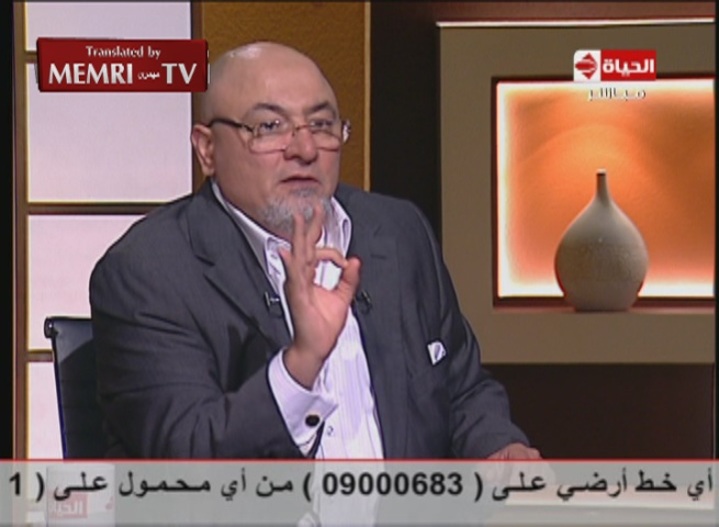 Egyptian Cleric Khaled Al-Gindi: Atheists Should Not Be Allowed Access to Egyptian Media