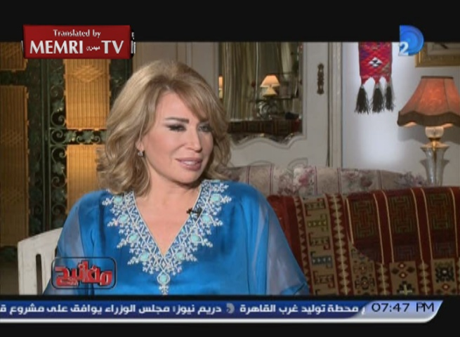 Egyptian Film Director Inas Al-Degheidy: Legalization of Prostitution Would Benefit Egyptian Society
