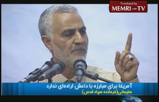 IRGC Quds Force Commander Qassem Suleimani to Obama: You Lack Determination to Confront ISIS and Defend Iraq