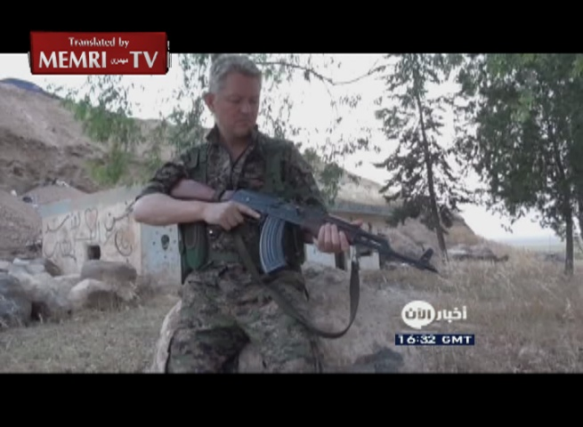 Hollywood Actor Michael Enright Joins Kurdish Forces: ISIS Is a Stain on Humanity, I'm Focused on Killing Them