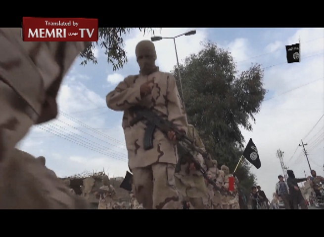 ISIS Video Presents Military Training of Children and Young Adults