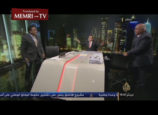 Iraqi Journalists Come to Blows on Al-Jazeera TV While Discussing Iranian Military Involvement in Iraq