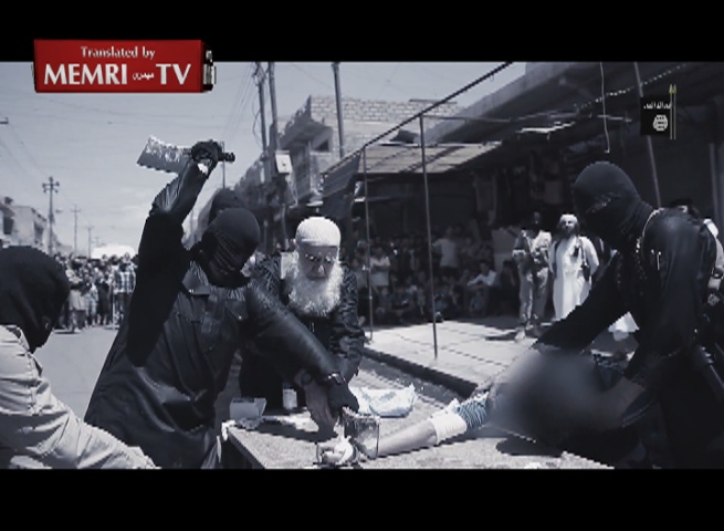 Hands of Thieves Chopped Off by ISIS in Nineveh Province, Iraq
