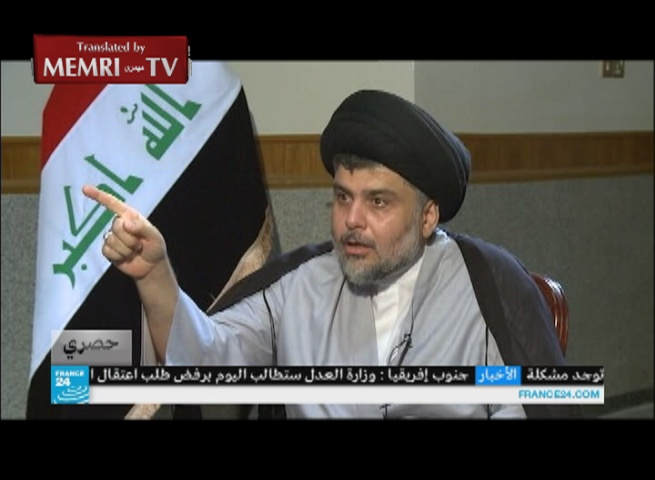 Iraqi Shiite Leader Muqtada Al-Sadr Threatens the U.S.: If It Enters Iraq, We Will Target It Like We Target ISIS