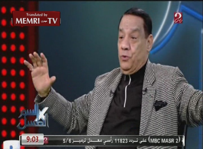 Egyptian Composer Helmy Bakr: Al-Sisi Is a God-Given Gift, I Am Bedazzled by Him