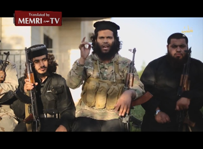 Palestinian ISIS Fighters in Aleppo Threaten Hamas: Gaza Shall Witness Blood and Torn Body Parts