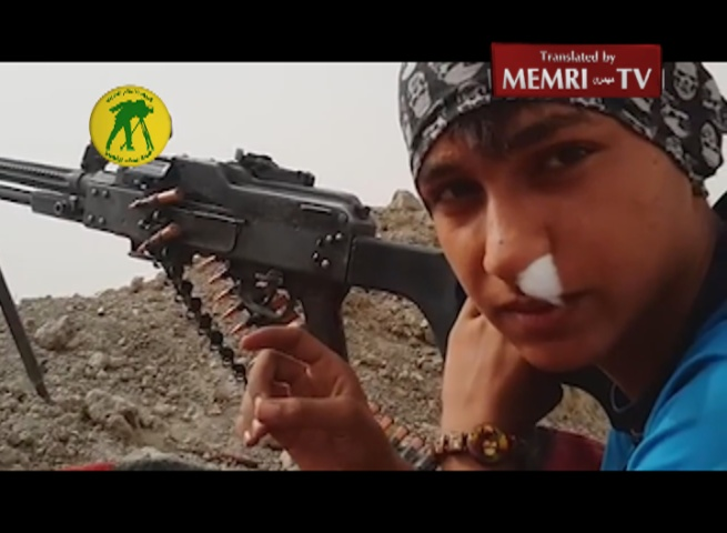 Iraqi Teenager Recruited by Al-Hashd Al-Shaabi Shiite Militia: I'm Doing It for Revenge