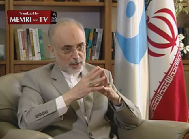 Iranian Negotiator Salehi: We Have Reached Understandings with the IAEA about the PMD; Technical Issues Are Now Being Resolved on a Political Level