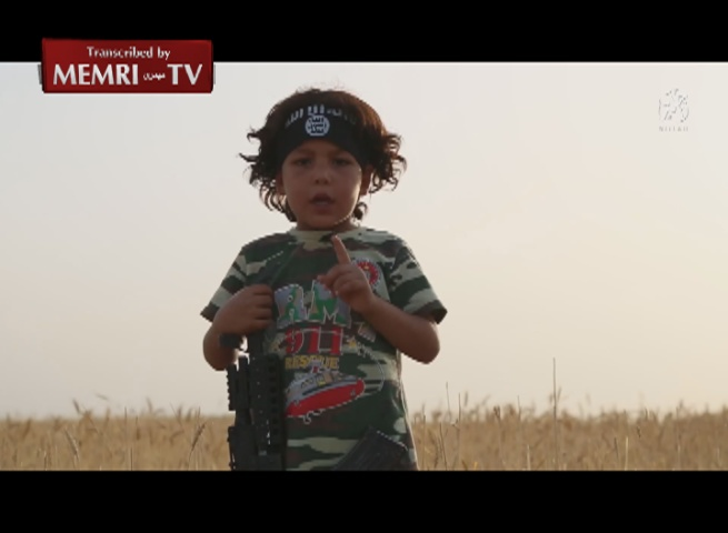 Children Undergo Military Training in ISIS Video, Vow to Conquer Rome