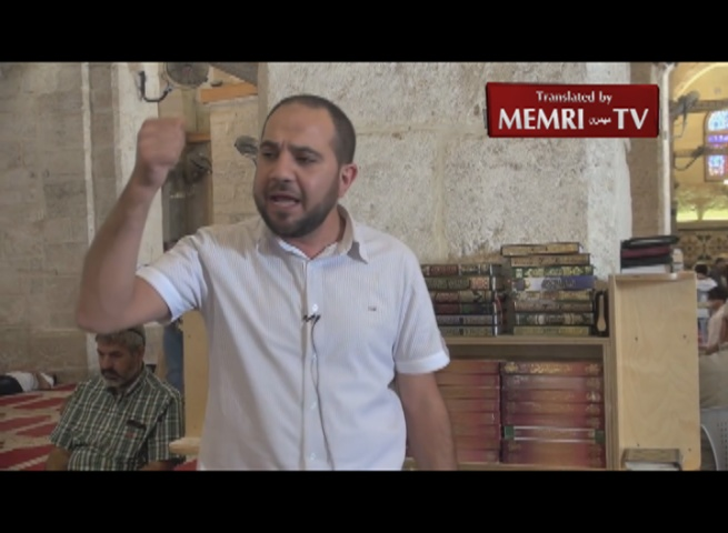 Sheik Ahmad Al-Dweik in Al-Aqsa Mosque Address: The Caliphate Will Eliminate the West in Its Entirety