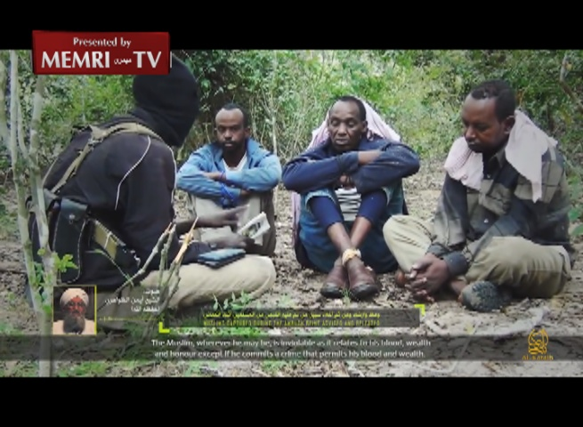 Al-Shabab Al-Mujahideen Video Shows Release of Muslims Captured in