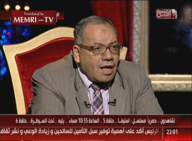 Egyptian Islamist Lawyer Nabih Al-Wahsh: If We Let Women Serve as Judges, They Will Want to Become Muftis
