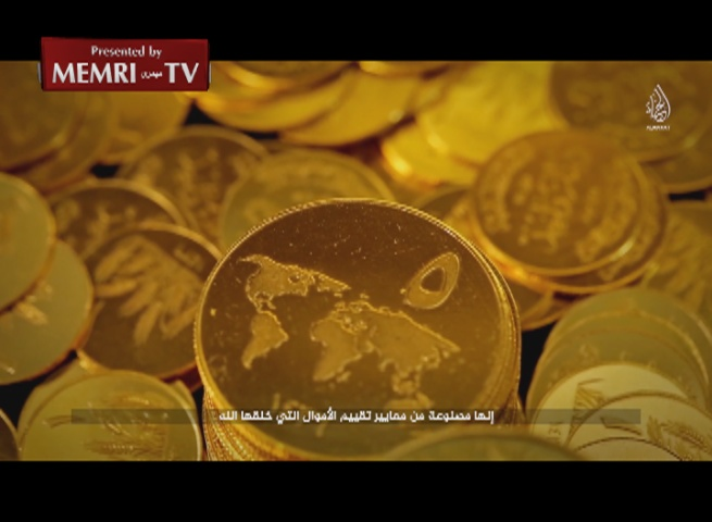 Video Announces Launching of ISIS Gold Dinar, Vows to Destroy U.S. Economy