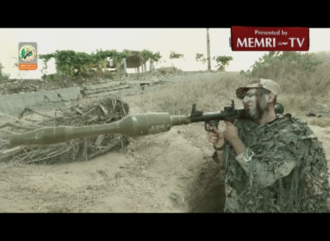 Video Clip Presents Footage of Hamas's Tunnel Digging Unit