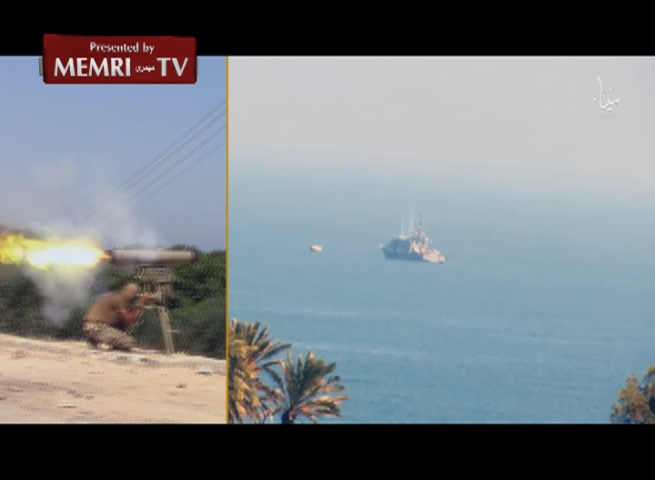 Video by ISIS Branch in Sinai Shows Use of Kornet Missiles against Egyptian Ship, Tanks