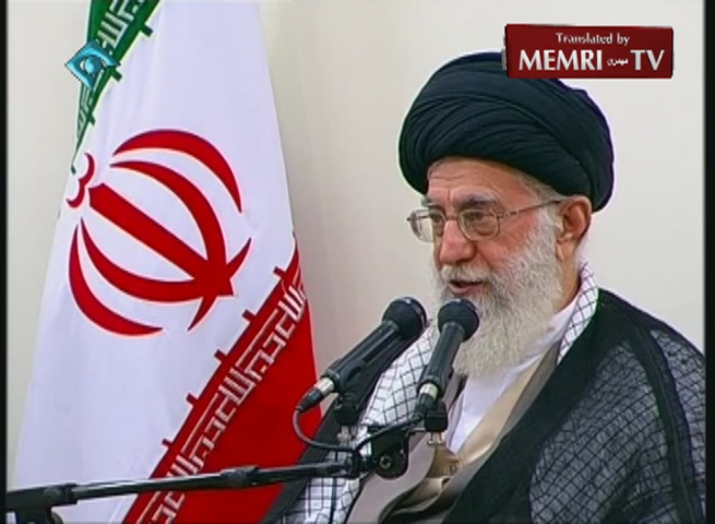 Iranian Supreme Leader Ali Khamenei: The Americans Must Lift the Sanctions, Not Suspend Them