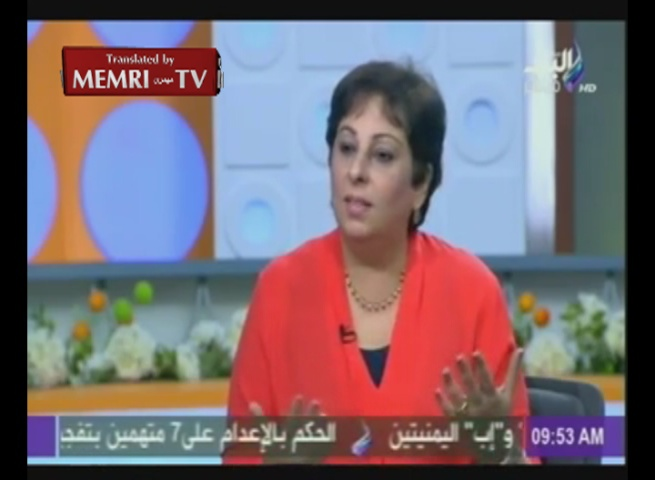 Egyptian Professor Azza Heikal on the Syrian Refugees: They Should Live and Die in Their Country