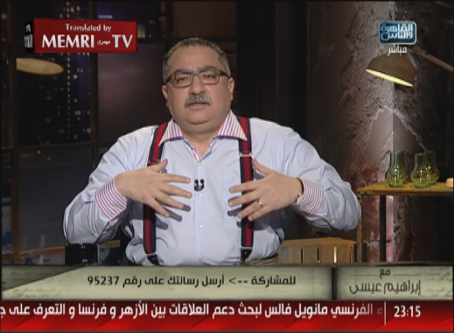 Egyptian TV Host against Stabbings by Palestinians: We Haven't Learned from Our Mistakes