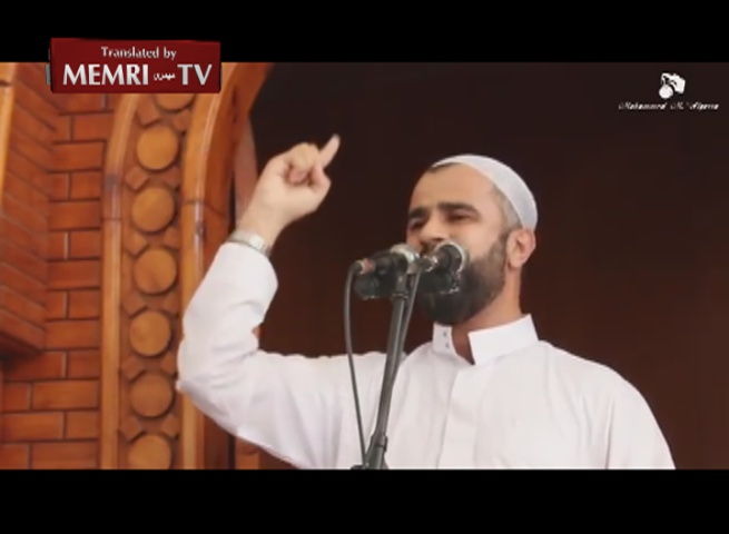Gaza Imam: Jews Are Brothers of Apes and Pigs, We Will Pray in Tel Aviv