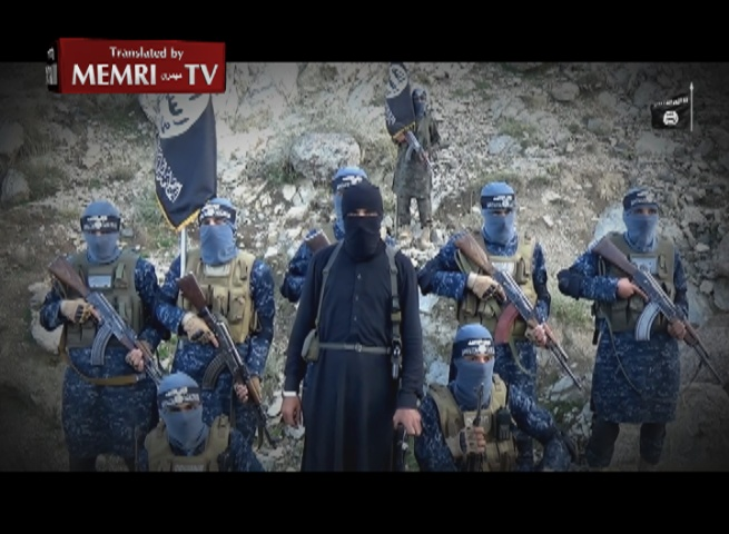 Video by Afghanistan Chapter of ISIS: We Have Declared War on the Jews and the Christians