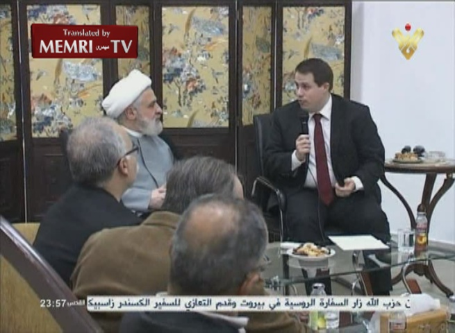 Delegation of European MPs, Politicians, and Cultural Figures Meets with Hizbullah Deputy Sec.-Gen. Naim Qassem