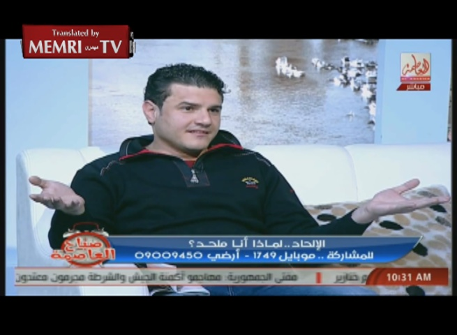 TV Host Clashes with Egyptian Atheist Live on the Air: We Don't Want Infidels Here