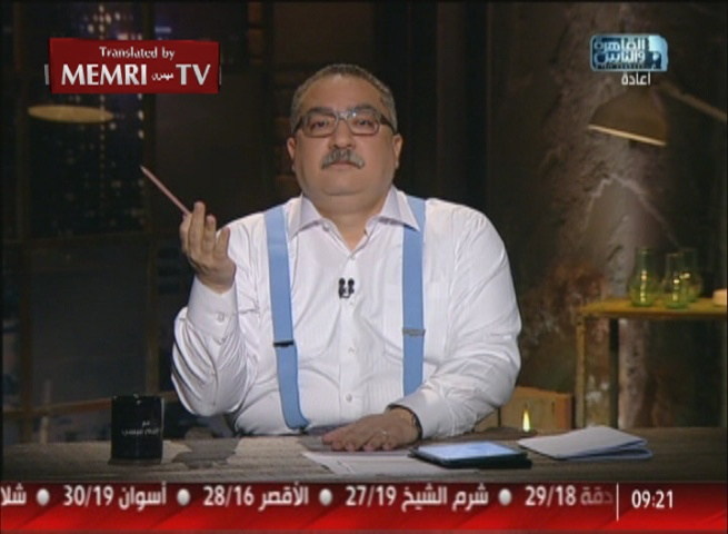 TV Host Ibrahim Issa Slams Egyptian Media for Adopting Conspiracy Theories: The Paris Bombers Were Not Buddhists
