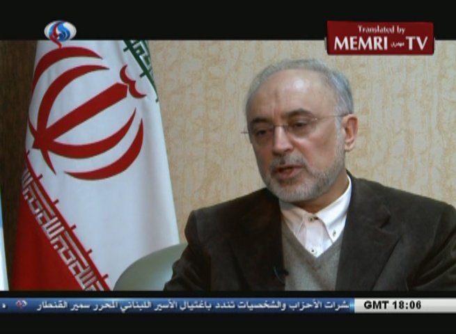Iranian Nuclear Chief Salehi Elaborates on Iran's Heavy Water Supply and Production and the JCPOA