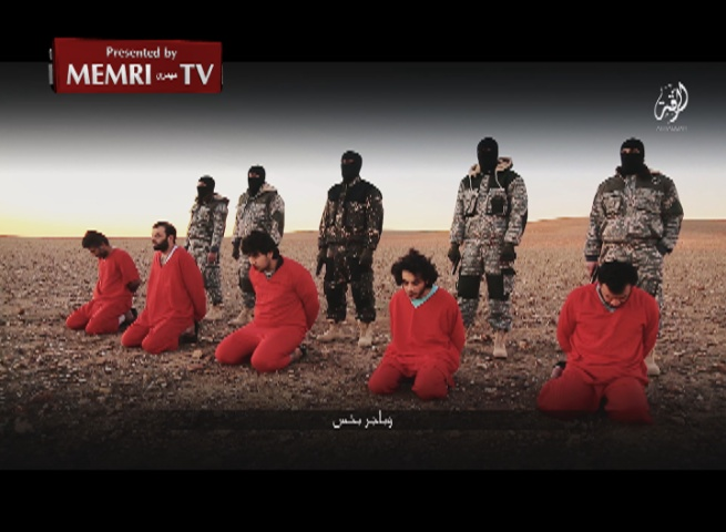 ISIS Video Shows Execution of Five British