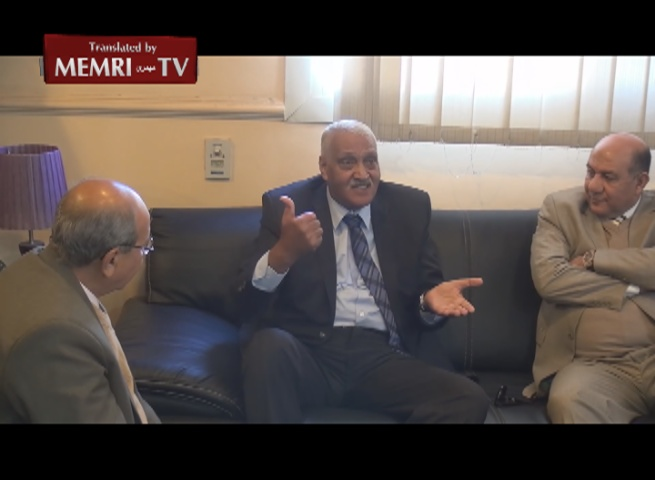 Suez Governor Helmi Al-Hayatami: If the Jews Fire Missiles at Egypt, the Winds Will Send Them Right Back