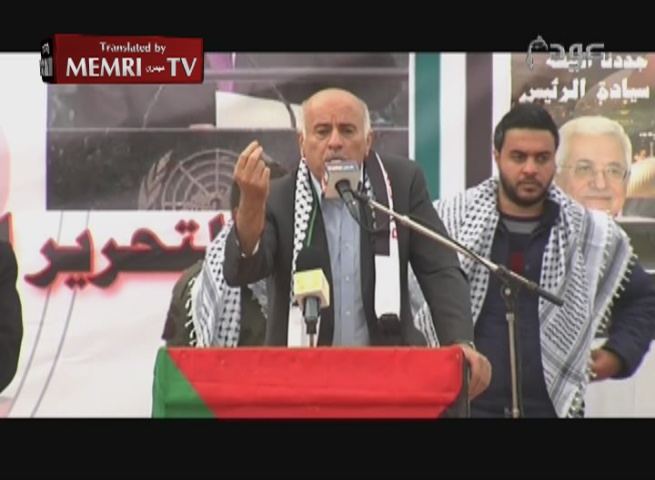 Jibril Rajoub to Israelis: You Sons of Bitches, We Will Accept Nothing Less than a Palestinian State